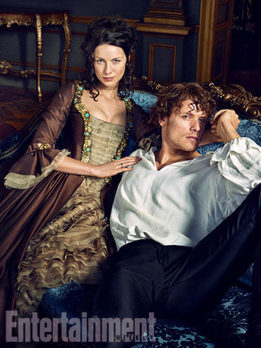 Outlander 2014 TV Series karatasi la kupamba ukuta possibly with a drawing room titled Outlander Season 2 Entertainment Weekly Exclusive Picture