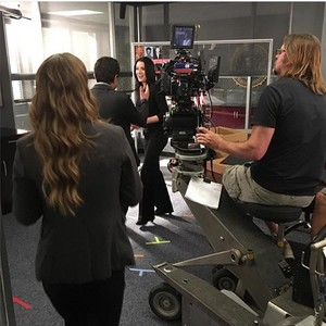 Paget is back!:) On set of Episode 11x09
