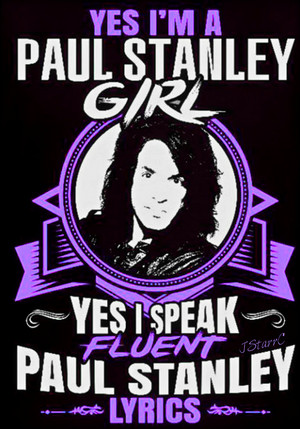 Paul Stanley girl!