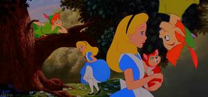 Peter Pan Meets Alice
