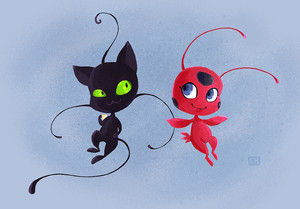 Plagg and Tikki