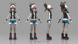 pokemon Black and White Version - Hilda