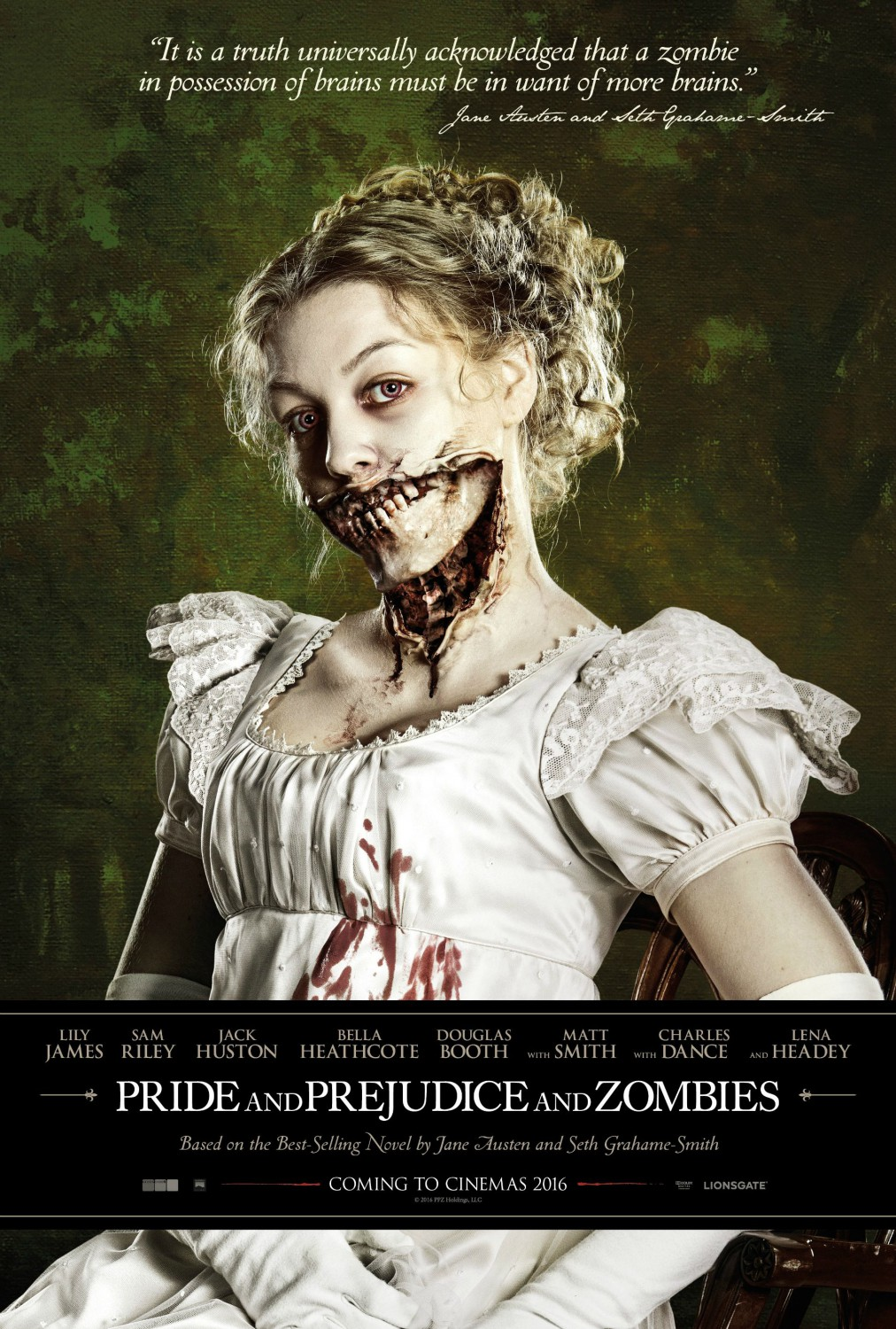 and Zombies images Pride and Prejudice and Zombies movie poster HD ...