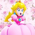 Princess Peach - nintendo fan art