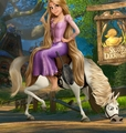 Rapunzel and Maximus - tangled fan art