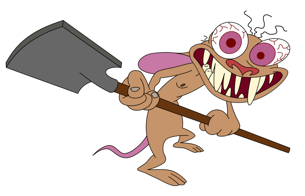 Ren And Stimpy Images With A Shovel HD Wallpaper Background Photos