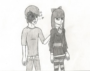 Requested Drawing: Windwakerguy430 and чулок
