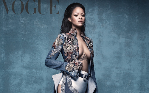 Rihanna wallpaper entitled Rihanna British Vogue 2016