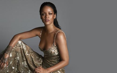 Rihanna wallpaper titled Rihanna Vogue US 2016