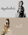 Rumple and Belle - once-upon-a-time fan art