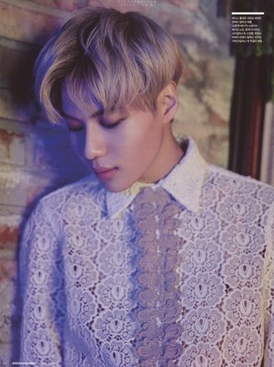 SHINee Taemin Arena Homme March Issue 2016