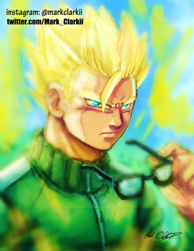 dragon ball z wallpaper entitled SSJ Gohan Revival Of F