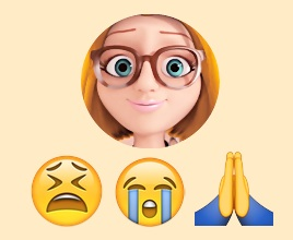 Sabrina ⇨ Emojis