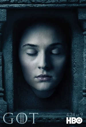 Sansa Stark - Season 6- Hall of Faces Poster