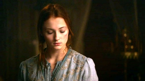 Sansa Stark Hintergrund possibly with a portrait titled Sansa