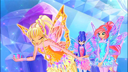 El Club Winx fondo de pantalla called Season 7 (Tynix): Stella,Bloom,Musa