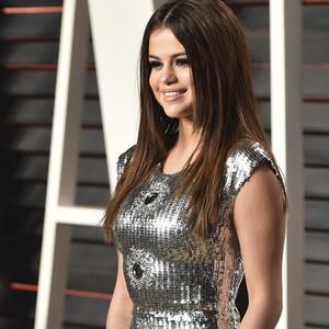 Selena Gomez at Vanity Fair Oscars Party 2016
