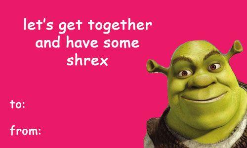 Shrek Images Sherk Valentines Day E Cards Wallpaper And Background