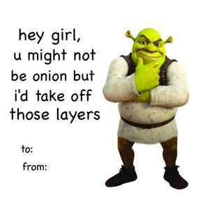 Sherk Valentines 日 E cards