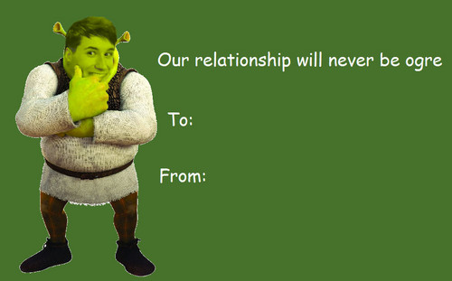 shrek wallpaper called sherk valentines day e cards - E Valentines Cards