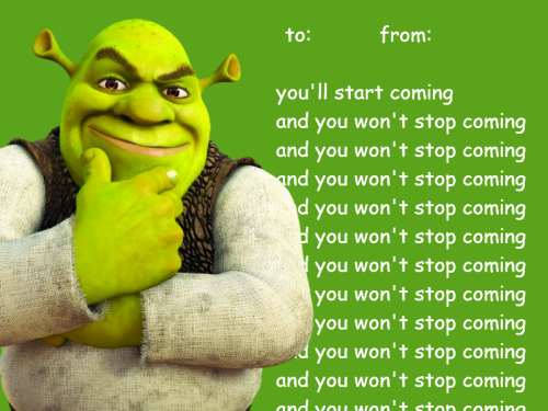 shrek wallpaper entitled sherk valentines day e cards - E Valentines Cards