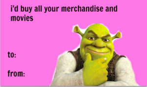 Sherk Valentines Day E cards