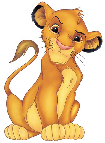 The Lion King kertas dinding probably containing Anime entitled Simba
