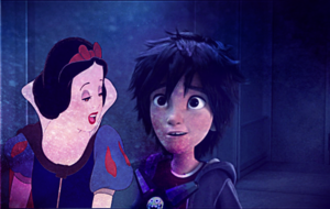 Snow White and Hiro Hamada