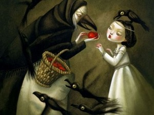 Snow White kwa Nicoletta Ceccoli