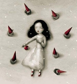 Snow White door Nicoletta Ceccoli