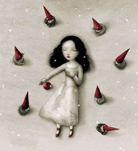 Snow White by Nicoletta Ceccoli