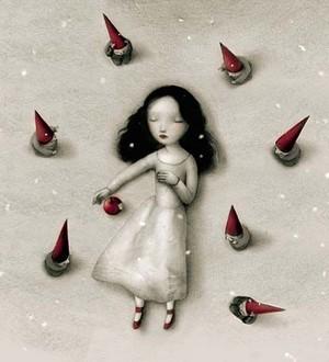 Snow White によって Nicoletta Ceccoli