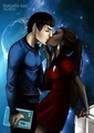 Spock and Uhura by nakashi-san - spock-and-uhura fan art