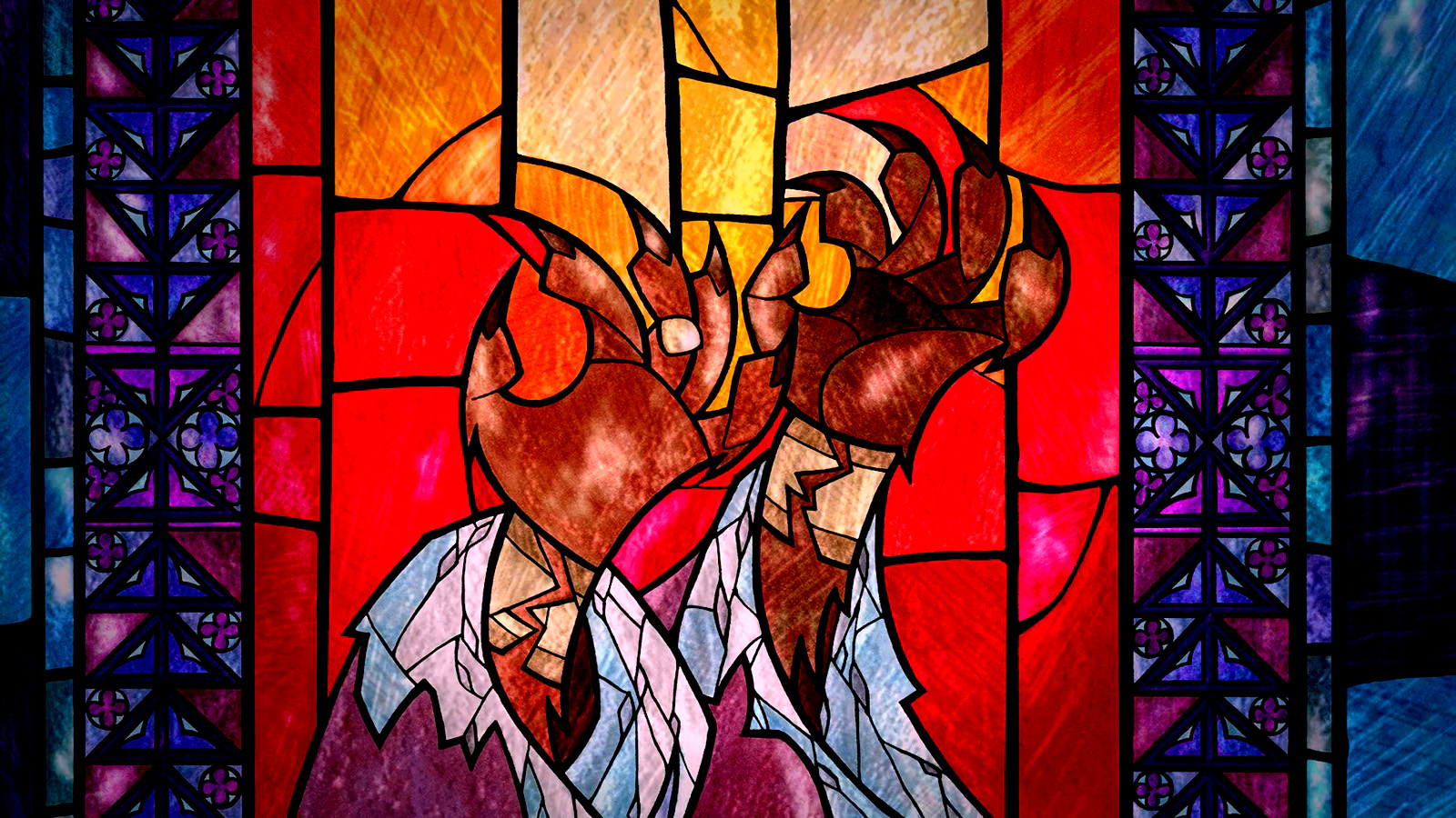 Stained Glass wolpeyper