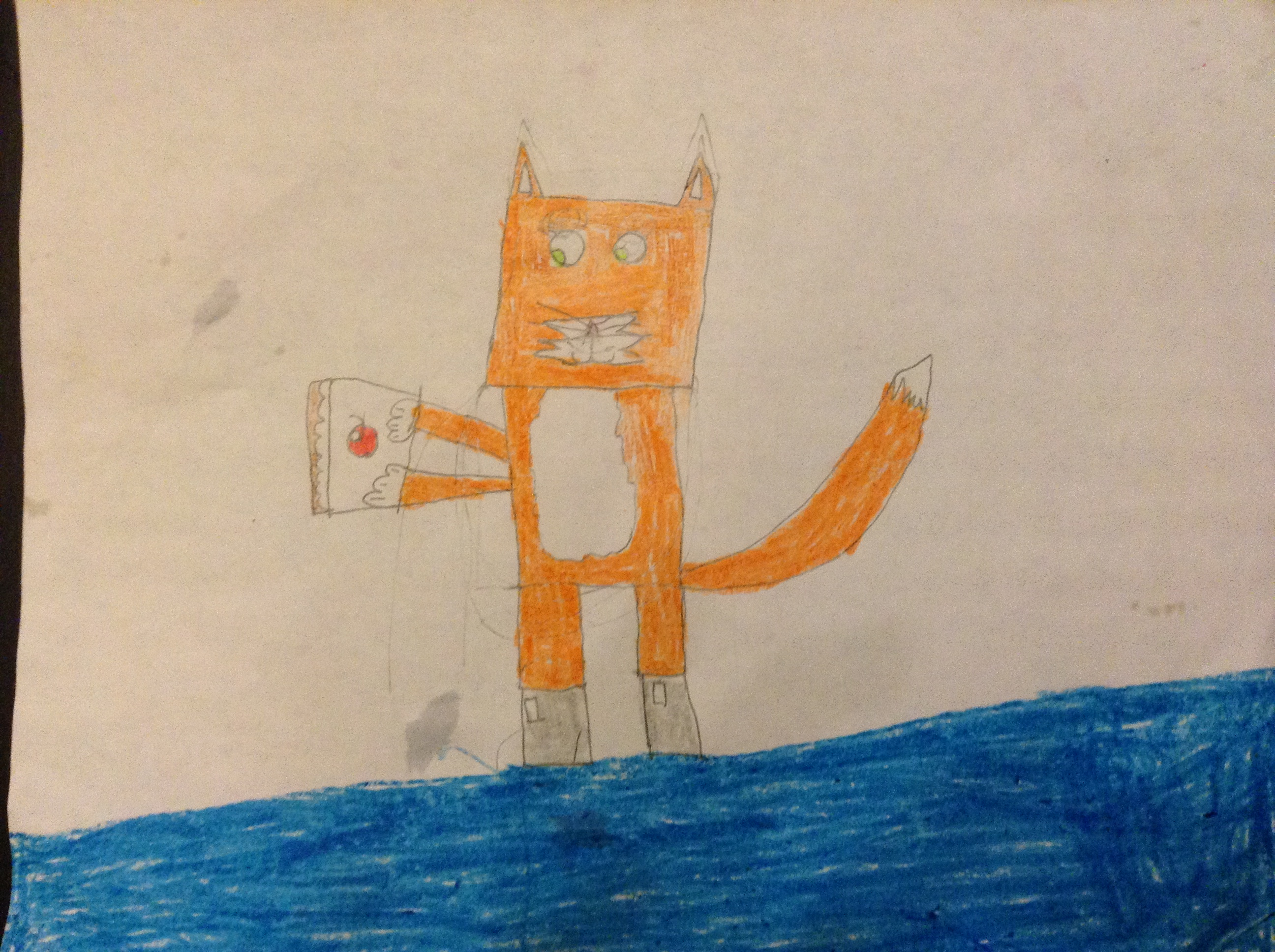 stampylongnose images stampy holding a cake hd wallpaper and
