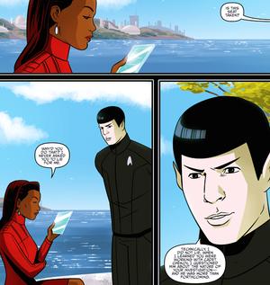 bintang Trek IDW Starfleet Academy 4 1