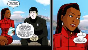 star, sterne Trek IDW Starfleet Academy 4 2