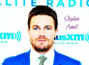 Stephen Amell - SiriusXM Studios in New York City 2014