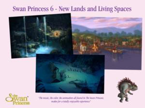 天鹅 Princess 6 concepts
