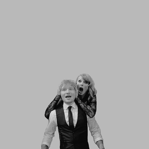 Taylor and Ed Sheeran