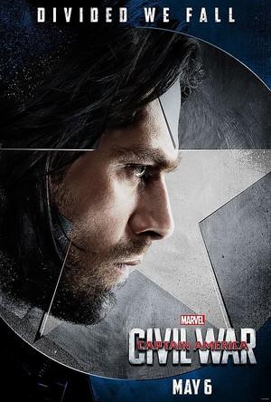 Team Captain America Poster - Winter Soldier