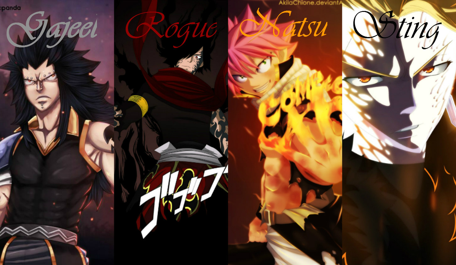 Fairy Tail Images The 4 Dragon Slayers HD Wallpaper And Background Photos