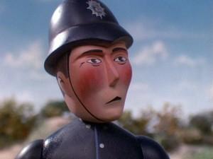 The Angry Policeman