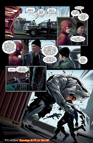 The Flash - Episode 2.15 - King 鮫, サメ - Comic プレビュー
