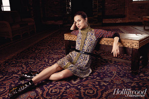 The Hollywood Reporter 2015 photoshoot