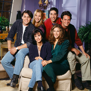 The Most '90s foto of the 'Friends' Cast