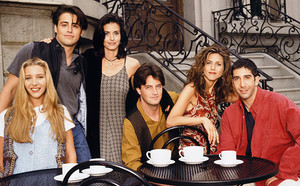 The Most '90s تصاویر of the 'Friends' Cast