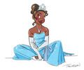 Tiana - disney-princess fan art