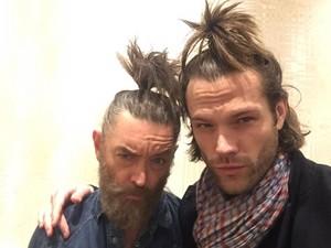 Timothy omundson and Jared padalecki