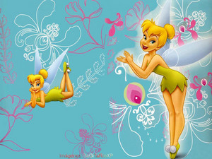 TinkerBell Blue rose